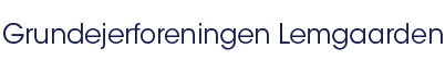 Lemgaardens hjemmeside Logo